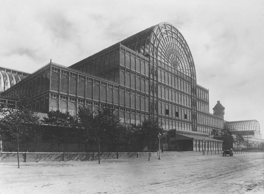 Cung thủy tinh (Crystal Palace) - kiến trúc sư Joseph Paxton